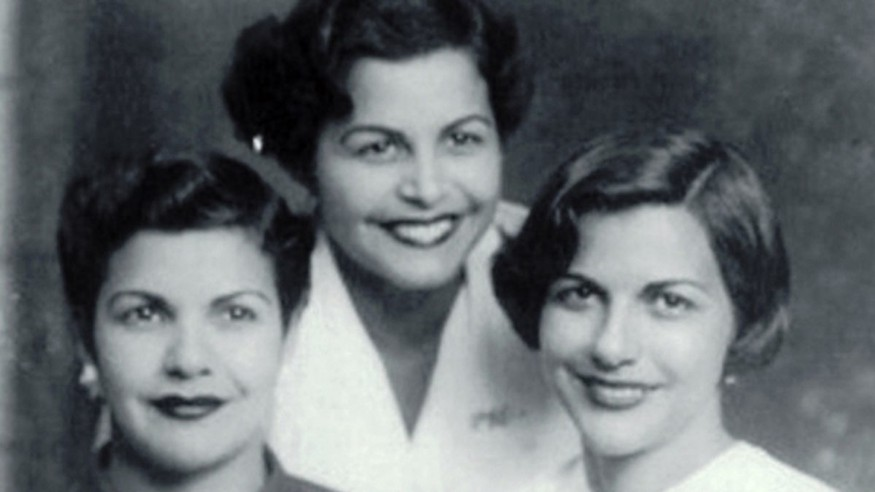 Patricia, Maria Teresa, and Minerva Mirabal — Original Images Owned by the Mirabal Family (Source: Guide to the Colonial Zone and the Dominican Republic)